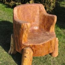 Medinės lauko kėdės (krėslai) Tauragėje