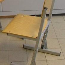 Mokyklinės kėdės Gargžduose