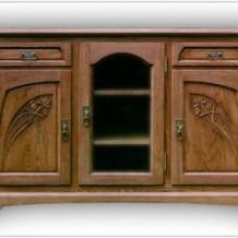 Klasikinės medinės komodos Klaipėdoje