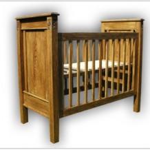 Klasikinės medinės vaikų lovytės Klaipėdoje