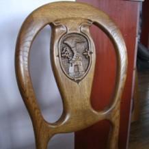 Medinės kėdės Palangoje