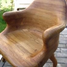 Medinės lauko kėdės, krėslai Palangoje