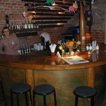 Medinis baras kavinei Palangoje