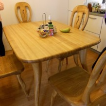 Mediniai stalai Palangoje